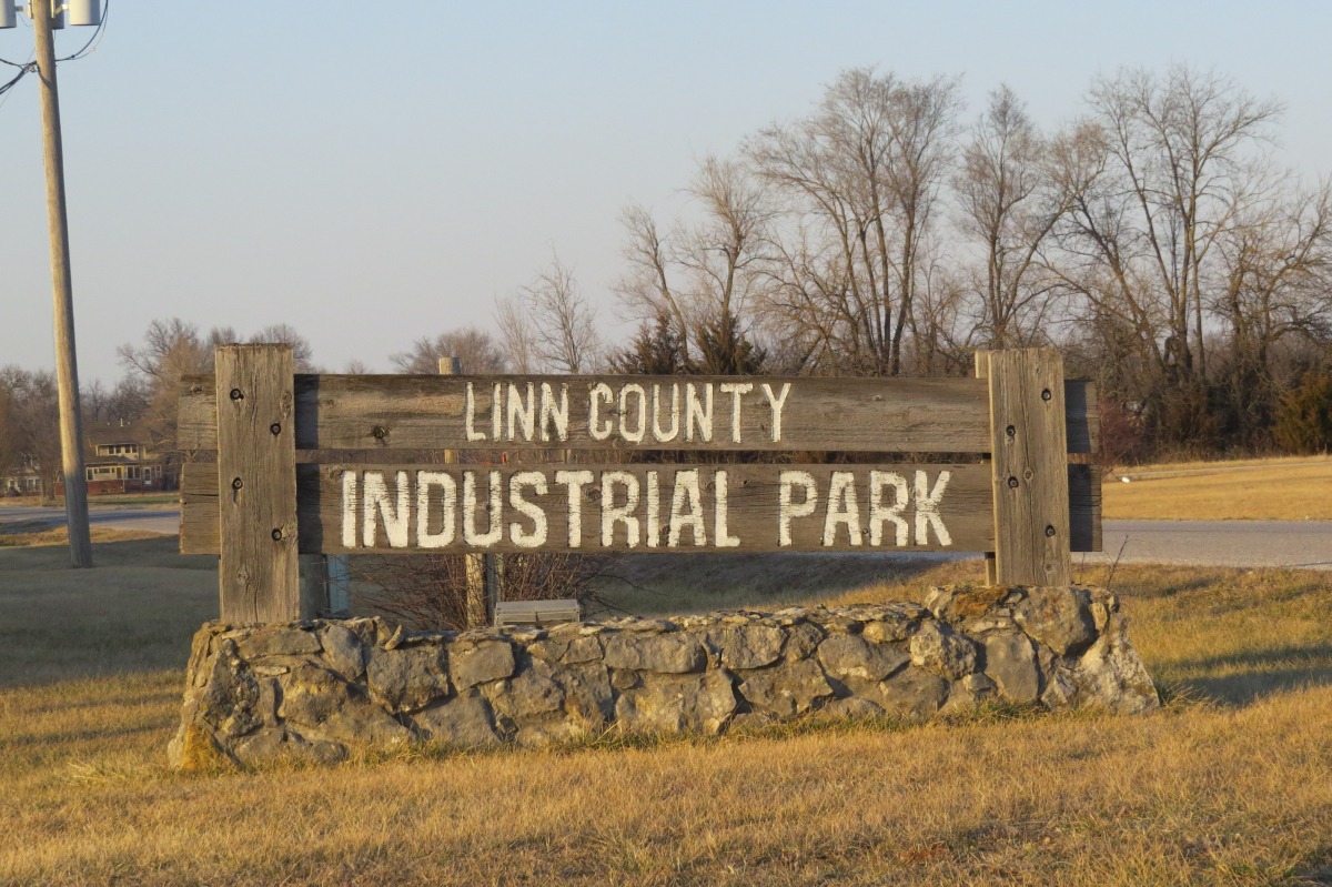 Linn County Kansas Industrial Park in La Cygne, Kansas